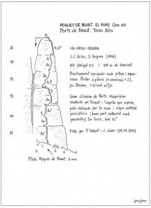 1108. roques de benet. el puro. GRISU-SEGURA