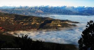 4. 516. Vista al N des del Montsec d'Ares (J Jover, 2010)