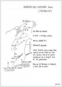1134. mirador dels ermitans. ÀREA DE SERVEI